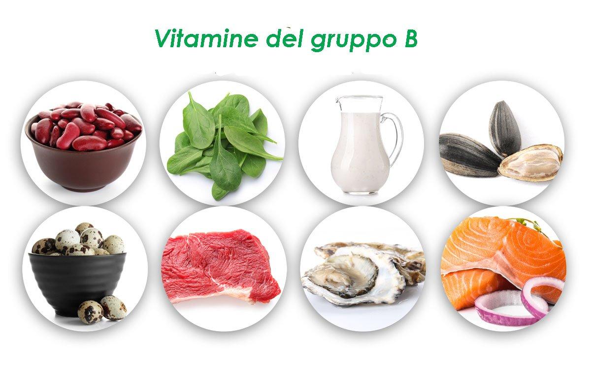 Vitamine del gruppo B - dove si trovano