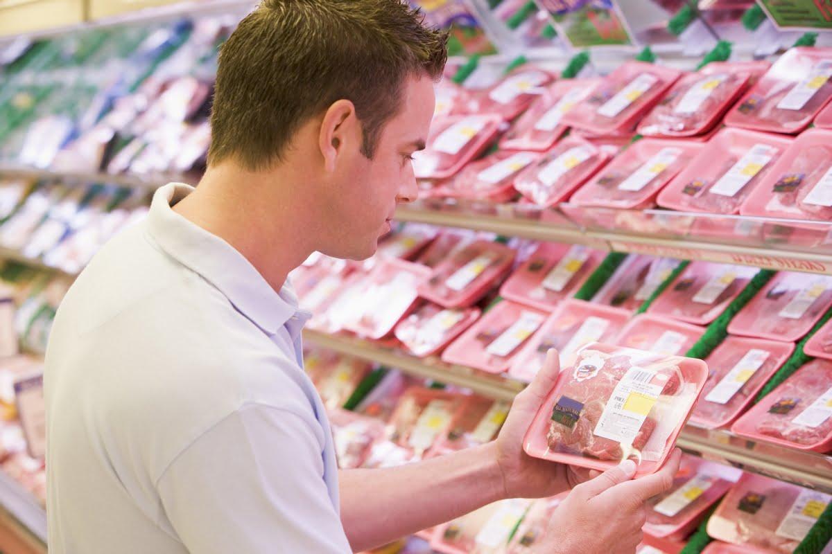 Etichette della carne