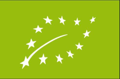 Il logo europeo dei prodotti biologici