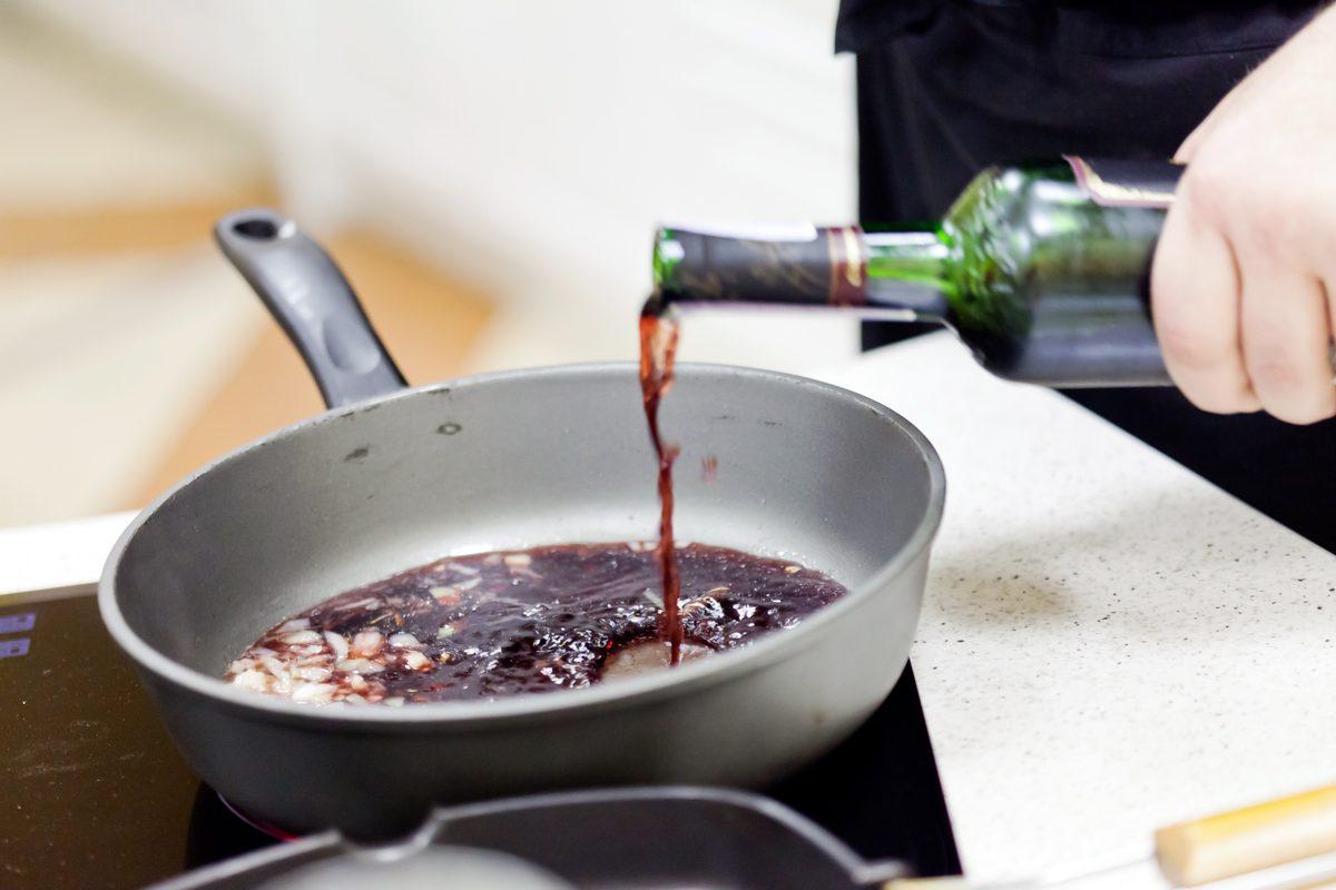 Alcol in cucina