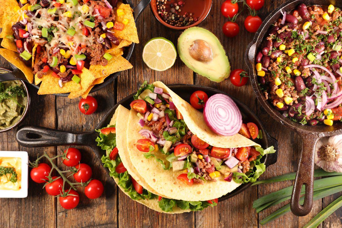 Cucine etniche e dieta