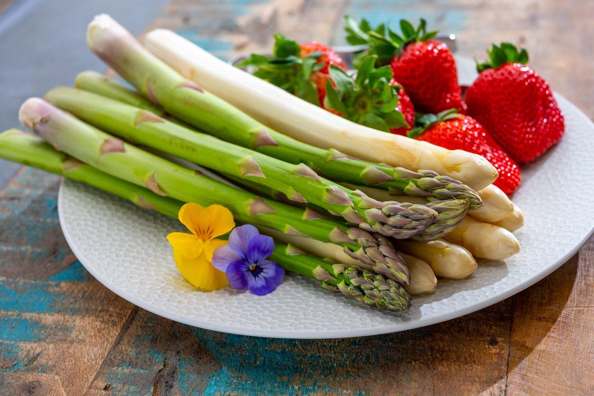 Frutta e verdura aprile